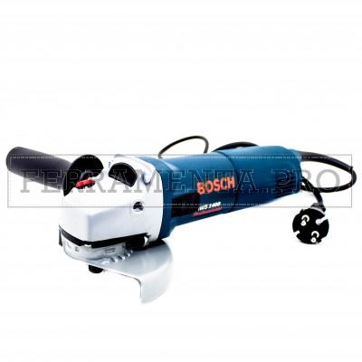 SMERIGLIATRICE ANGOLARE BOSCH GWS 1400 PROFESSIONAL Ø 125 mm per MOLARE LAMIERE METALLO