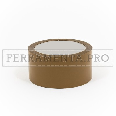 NASTRO ADESIVO IMBALLAGGI 50mm X 66m AVANA MARRONE ACRILICO LOW-NOISE