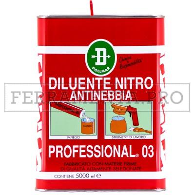 DILUENTE NITRO ANTINEBBIA PROFESSIONAL® 03 5l ALTA QUALITÀ