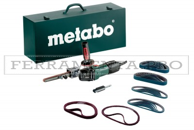 Metabo BFE 9-20 Set Lima a nastro in Valigetta metallica