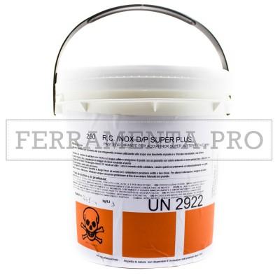 DECAPANTE INOX D/P SUPER PLUS PASTA per ACCIAIO INOX PROFESSIONALE 3Kg