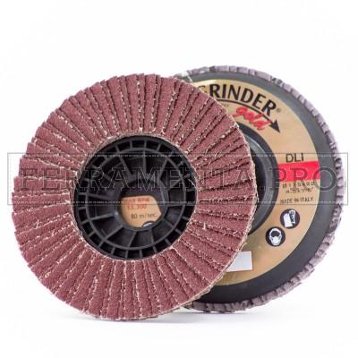 DISCO ABRASIVO INDUSTRIALE 115mm al CORINDONE Fast Grinder DLI