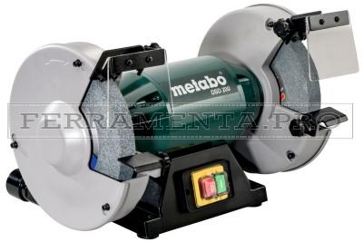 Metabo DSD 200 Smerigliatrice doppia da banco