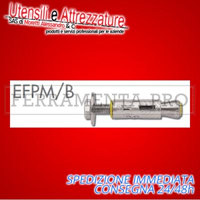 Tassello ancorante metallico EFPM/B 16 x 65 mm con bullone M10