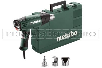 Metabo HE 23-650 Control Pistole termiche in Valigetta in plastica