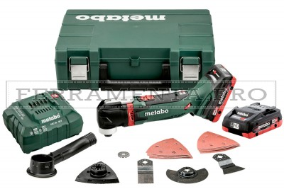 Metabo MT 18 LTX Multitool a batteria in Valigetta in plastica
