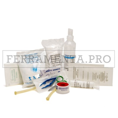 PACCO REINTEGRO CATEGORIA C (entro 2 dipendenti) per CASSETTA MEDICA PRIMO SOCCORSO DM 388