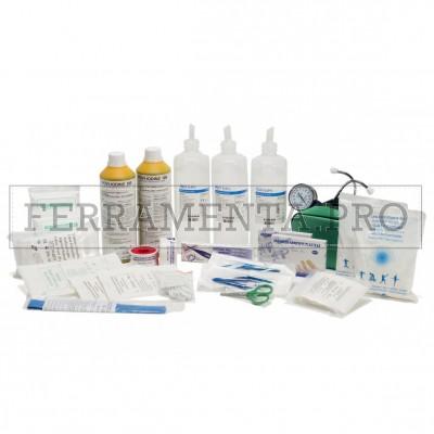 PACCO REINTEGRO CATEGORIA AB (oltre 2 dipendenti) per CASSETTA MEDICA PRIMO SOCCORSO DM 388