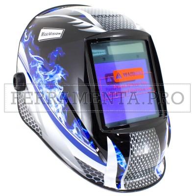 MASCHERA AUTOMATICA per SALDATURA A CRISTALLI LIQUIDI LCD PROFESSIONALE 0,00003s MAXI VISION