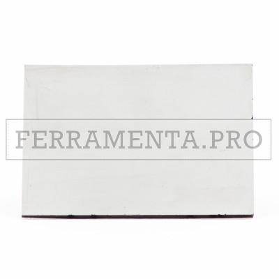 VETRO INATTINICO SCURO a SPECCHIO per SCHERMO MASCHERA MANUALE da SALDATURA 98x75mm