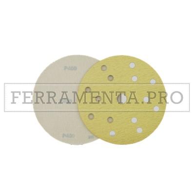 DISCO a STRAPPO VELCRATO RESINATO per CARTEGGIATURA CARROZZERIA VERNICE STUCCO