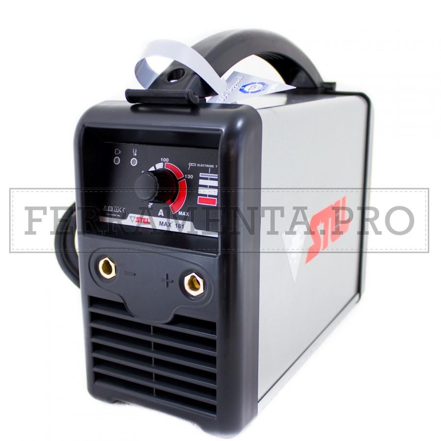 Schema Elettrico Saldatrice Inverter : Saldatrice inverter stel max stick smaw professionale con kit
