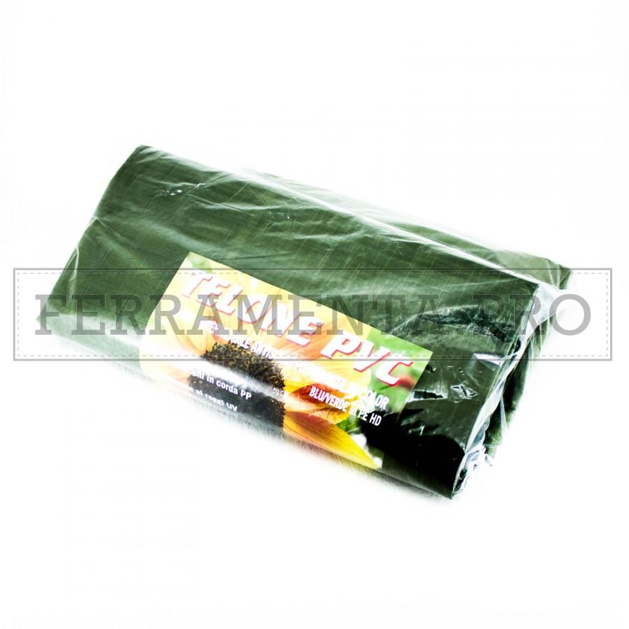 Telo incerato incerata impermeabile 110g mq verde for Telo multiuso per auto