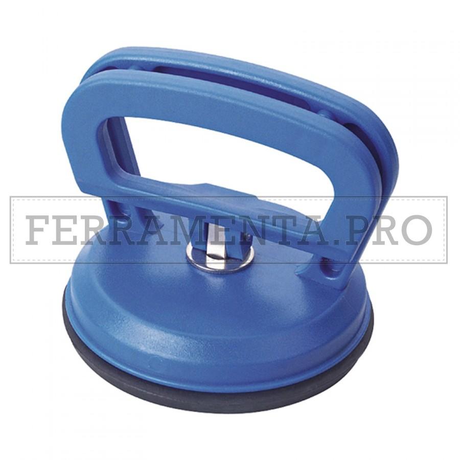 Ventosa MAURER doppia per sollevamento lastre plastica 80kg diam 11,5 cm