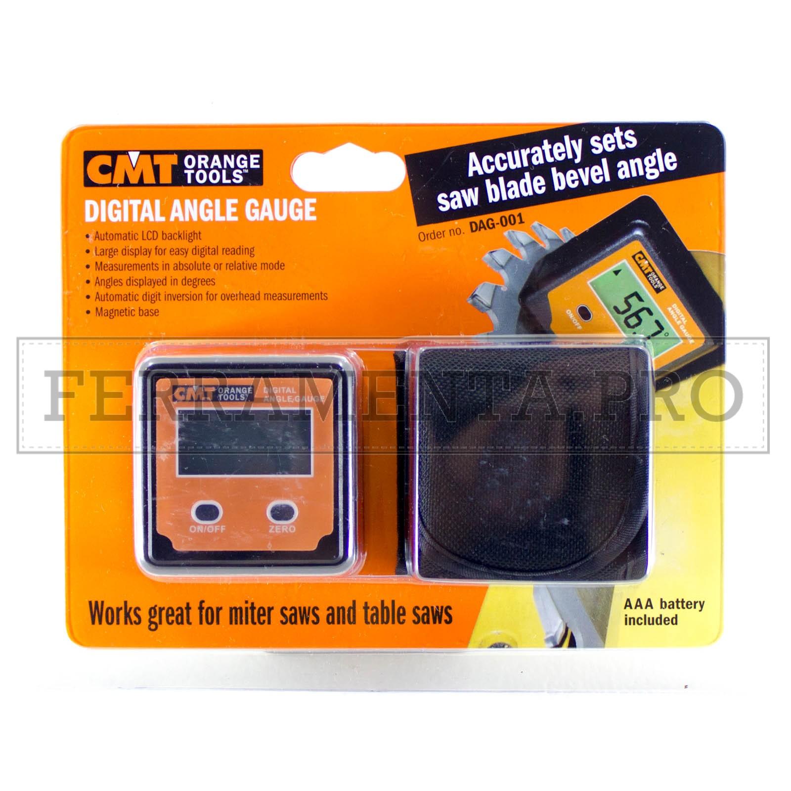 DAF-001 CMT Goniometro digitale Cod.