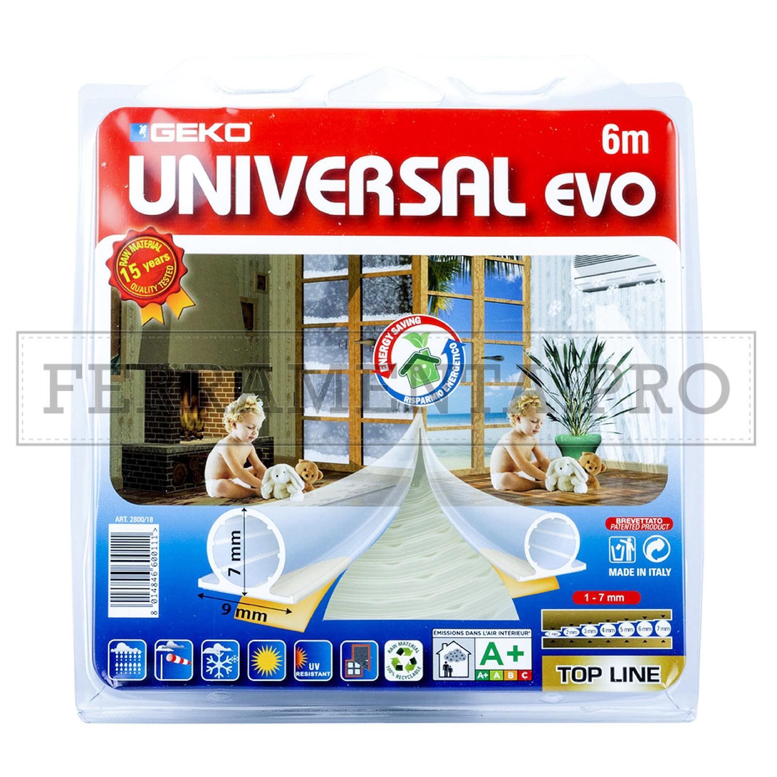 Parafreddo Universal Evo Geko Silicone 1-7Mm 6M Marrone