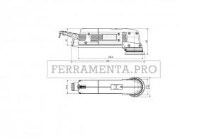 Metabo SX E 400 Levigatrice roto-orbitale