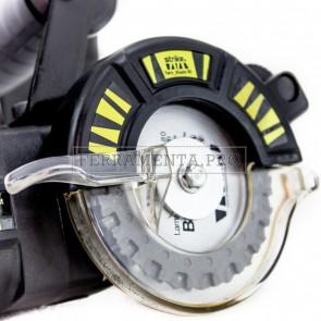 STRIKE TWINBLADE 80mm SEGA A DOPPIE LAME CONTROROTANTI PROFESSIONALE 550W TWIN BLADE