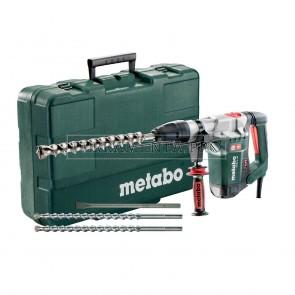 METABO MARTELLO COMBINATO ELETTRONICO KHE 5-40 SET + SERIE DI PUNTE/SCALPELLI SDS-MAX (3 PZ.)