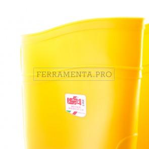 STIVALE ANTINFORTUNISTICO PVC GIALLO ISSA FORT S5 SRC LAVORO EDILIZIA SICUREZZA
