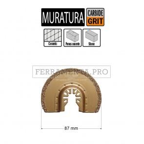 LAMA FRESA INTAGLIO MURO 87mm per CMT 11 MULTIFUNZIONE OSCILLANTE UNIVERSALE