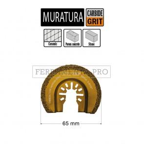 LAMA FRESA INTAGLIO MURATURA 65mm per CMT 11 MULTIFUNZIONE OSCILLANTE UNIVERSALE