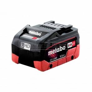 METABO BATTERIA Li-HD 18 V - 5,5 Ah RICAMBIO ELETTROUTENSILI COMPATIBILE CAS 18V
