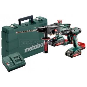 Metabo Combo Set 2.3.4 18 V Macchine a batteria nel kit in Valigetta in plastica