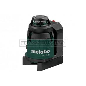 Metabo MLL 3-20 Laser lineare in MetaLoc