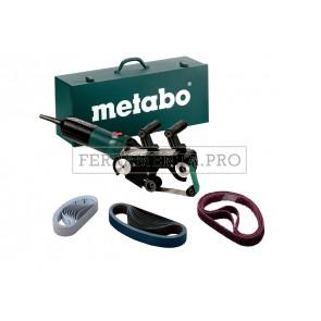 Metabo RBE 9-60 Set Levigatrice a nastro per tubi in Valigetta metallica