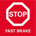 Fast Brake: freno di arresto per una maggior sicurezza grazie all'arresto rapido dell'utensile