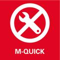 Cambio rapido degli utensili Metabo Quick: senza l'ausilio di attrezzi - veloce, comodo e sicuro