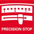 Precision Stop: frizione a coppia elettronica di maggiore precisione, per lavorare con precisione e accuratezza
