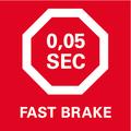 Dispositivo meccanico brevettato per l'arresto rapido della lama: in 0,05 secondi per una maggior sicurezza