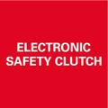 Arresto di sicurezza elettronico: del motore al bloccarsi della mola, per lavorare in tutta sicurezza