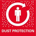 Protezione antipolvere ottimale: per un lavoro pulito e comodo: i trucioli e le polveri vengono aspirati in maniera rapida ed efficace