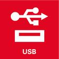 Attacco USB: due attacchi USB rapidi per ricaricare e alimentare dispositivi USB
