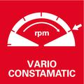 Elettronica a onda piena Vario-Constamatic (VC): per lavorare con velocità adeguate ai materiali, che rimangono costanti anche sotto carico
