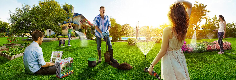 Lance e pistole irrigazione giardinaggio accessori for Irrigazione orto claber